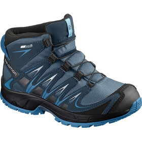 Salomon Kids Xa Pro 3D Mid CSWP Shoes Mallard Blue/Reflecting Pond/Mykono